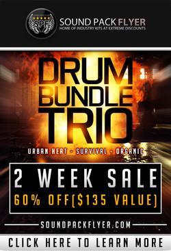 Xclusive Audio Drum Bundle Trio