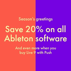 Ableton 20% off