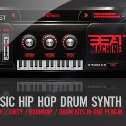 dopevst beat machine virtual drum instrument for hip hop. Black Bedroom Furniture Sets. Home Design Ideas