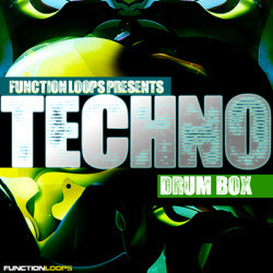 Function Loops Techno Drum Box