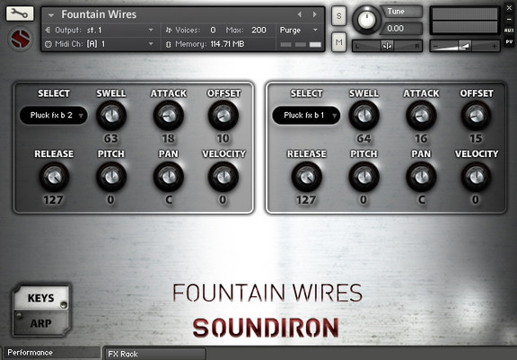 Soundiron Fountain Wires