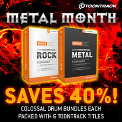 Toontrack Drum Fundamentals Metal & Rock