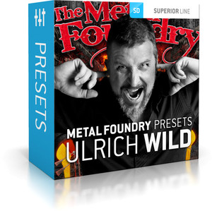 Toontrack Metal Foundry Presets Ulrich Wild