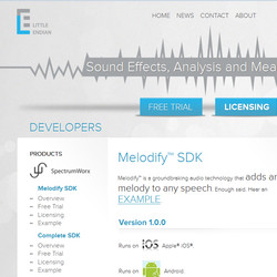 Little Endian Melodify SDK