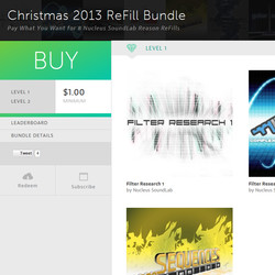 Nucleus SoundLab Christmas 2013 ReFill Bundle