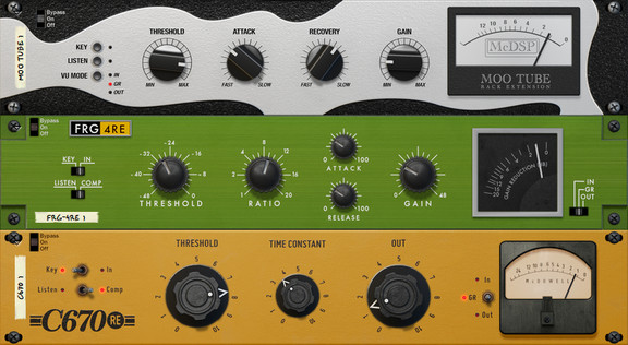 McDSP Compressor Collection
