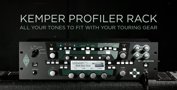 Kemper Amps Profiler Rack