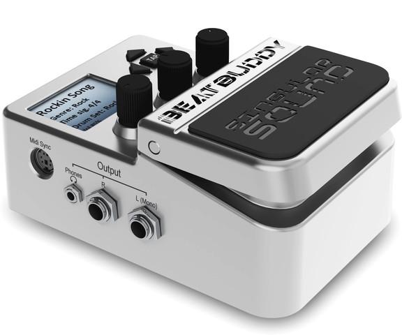 singular sound beatbuddy guitar pedal drum machine. Black Bedroom Furniture Sets. Home Design Ideas