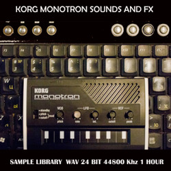 Softrave Korg Monotron Sounds & FX