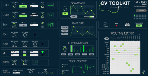Spektrum Audio CV Toolkit