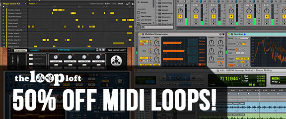 The Loop Loft MIDI Madness Sale