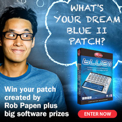 Rob Papen BLUE II  patch contest