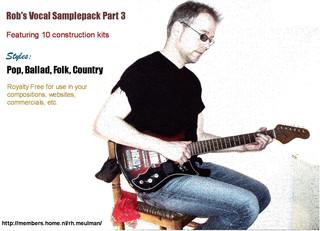 Rob's Vocal Samplepack Part 3