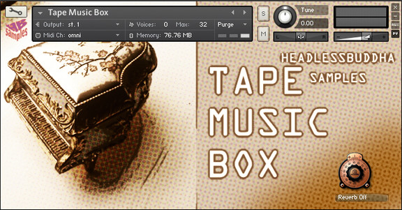 HeadlessBuddha Samples Tape Music Box