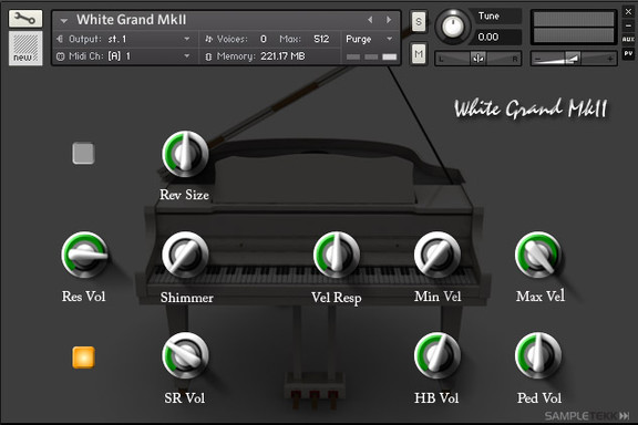 SampleTekk Grand White MkII