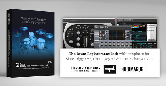 Vintage Premier Outfits 54 Kit Drum Replacement Pack