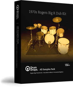Drumdrops Rogers Big R Dub Kit ALL Samples Pack