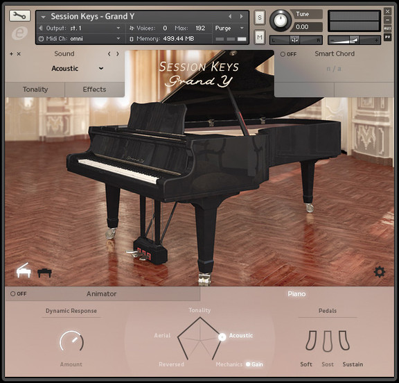 e-instruments Session Keys Grand Y (Concert)