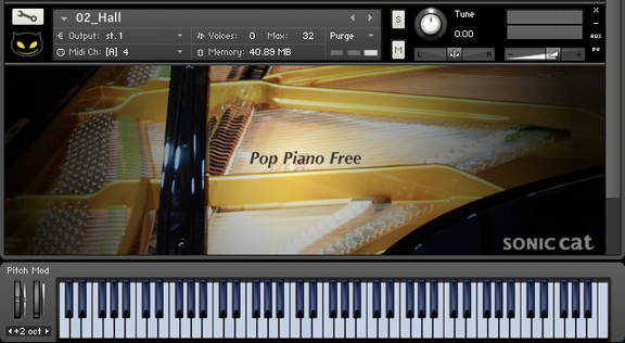 Sonic Cat Pop Piano Free