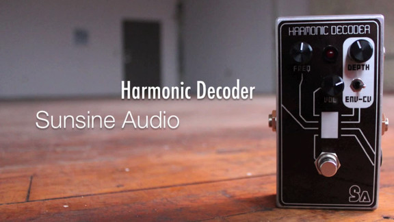 Sunsine Audio Harmonic Decoder