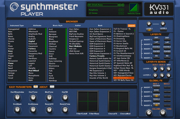 KV331 Audio SynthMaster