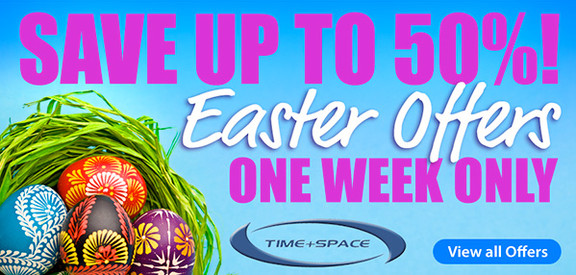 Time+Space Easter Sale