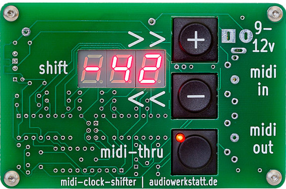Audiowerkstatt midi-clock-shifter