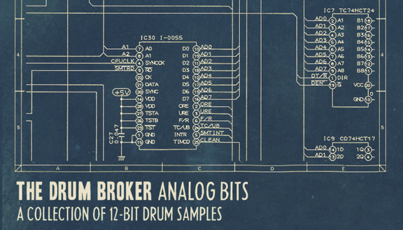 Drum Sample Broker Analog Hits