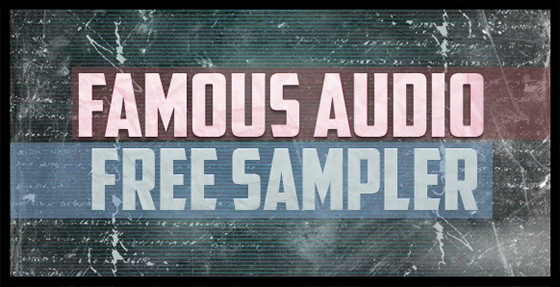 Famous Audio Free Sampler