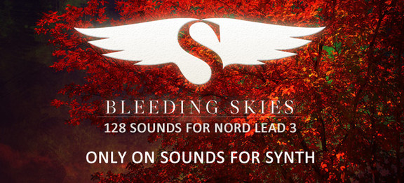 Sounds for Synth Bleeding Skies