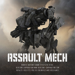 Bluezone Assault Mech
