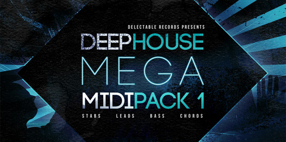 Deep House Mega Midi Pack Vol.1