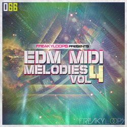 Freaky Loops EDM MIDI Melodies Vol 4