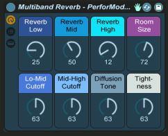 PerforModule MultiBand Reverb