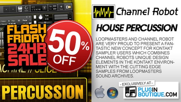 Channel Robot House Percussion 50% off