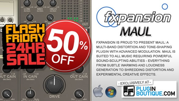 FXpansion Maul 50% off