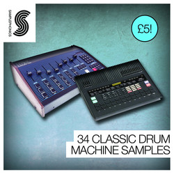 Samplephonics 34 Classic Drum Machine Samples