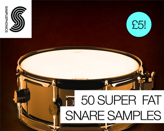 Samplephonics 50 Super Fat Snare Samples