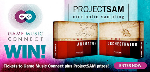 Game Music Connect & ProjectSAM contest