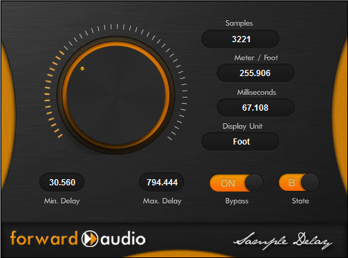 Forward Audio fa SampleDelay