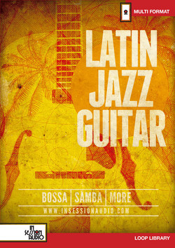 Latin Jazz Guitar loops library by In Session Audio released