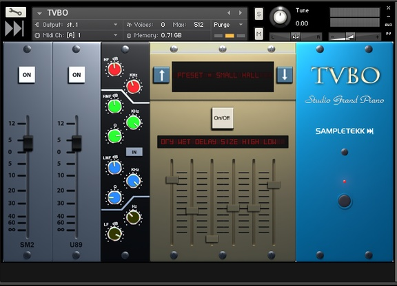 SampleTekk TVBO - Yamaha C7 Studio Grand