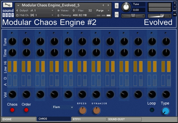 Sound Dust Modular Chaos Engine #2 - Evolved