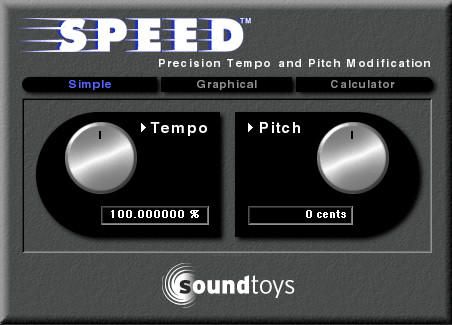 SoundToys Speed