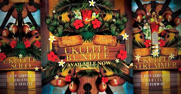 8Dio Ukulele Bundle