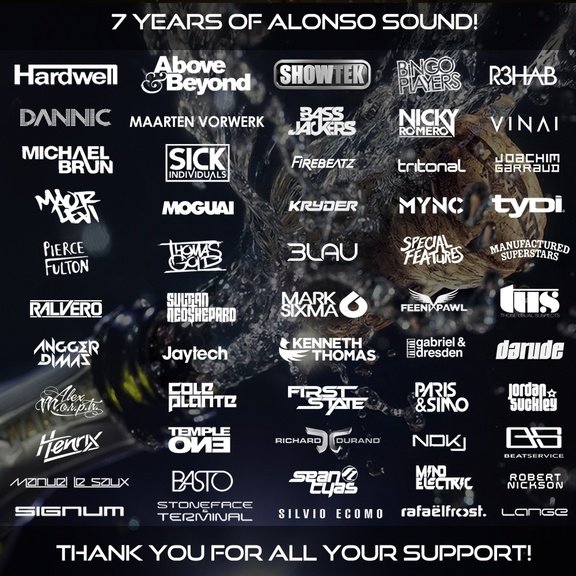 Alonso Sound 7 Year Anniversary