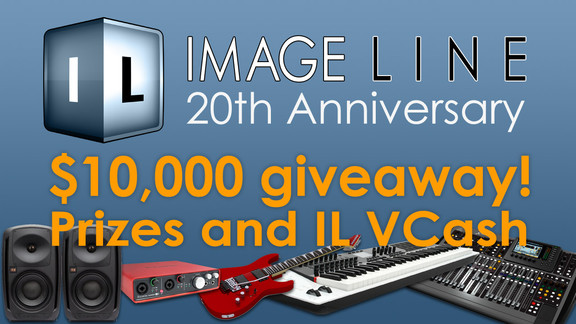 Image-Line $10.000 Giveaway