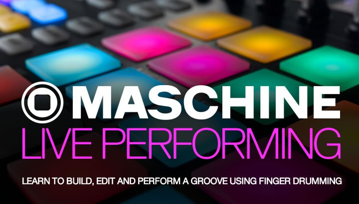 Maschine Live Performing