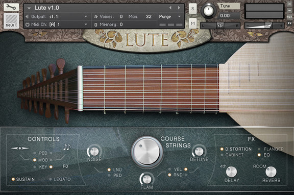 Cinematique Instruments Lute