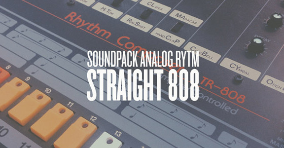 straight 808 by goldbaby for elektron analog rytm. Black Bedroom Furniture Sets. Home Design Ideas